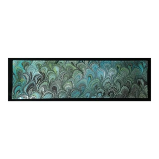 Oceanic Glass Marbled Tray