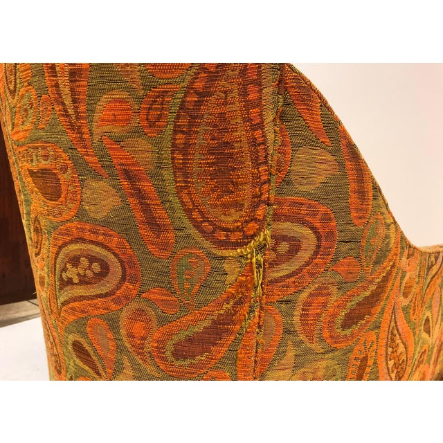 1970s Pair Mid Century Modern Lounge Chairs For Sale - Image 5 of 6