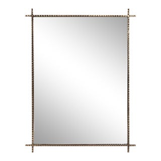 Kenneth Ludwig Chicago Isarno Rebar Mirror For Sale