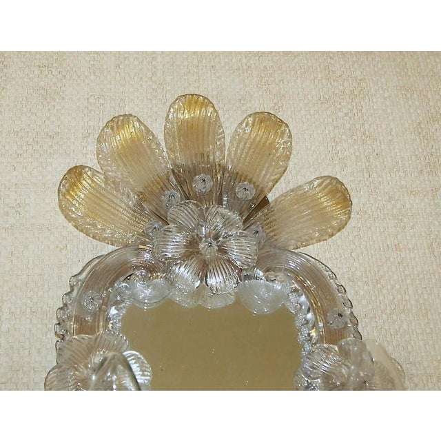 1920s 1920s Venetian Italian Mirrored Wall Sconces - a Pair For Sale - Image 5 of 12