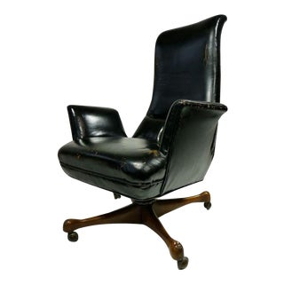 Rare Vladimir Kagan Desk Chair For Sale