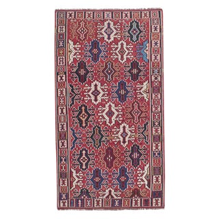 Antique Kuba Kilim For Sale