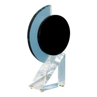 Abstract Hivo Van Teal Lucite Sculpture For Sale