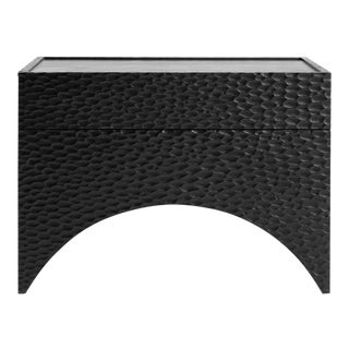 Contemporary Arc Side Table by Cuff Studio For Sale