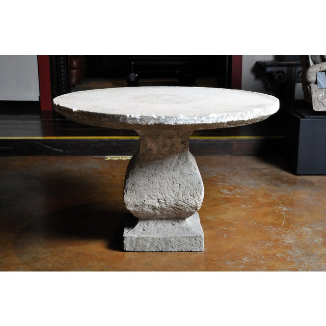 19th Century Limestone Garden Table For Sale - Image 13 of 13