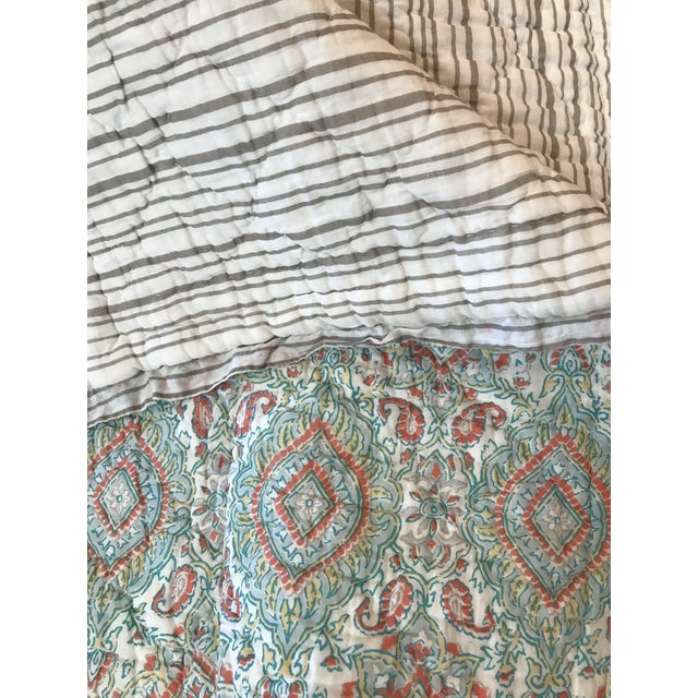 John Robshaw Kanchi Twin Quilt - Image 5 of 6