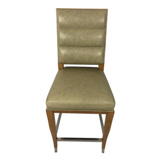 Lemonwood Green Aubusson Bar Stool