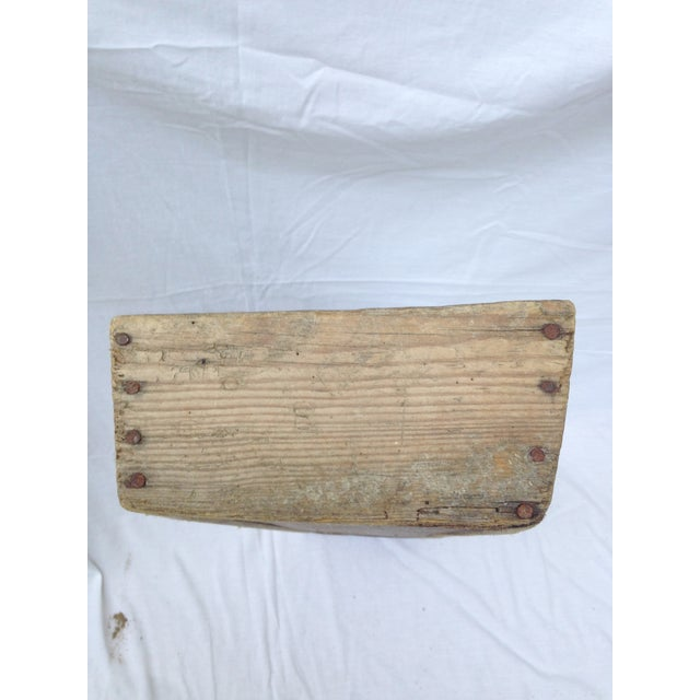 Rustic French Wood Trough - Image 6 of 6