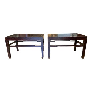 Tansu Design Shanxi Ming Side Tables - a Pair. For Sale