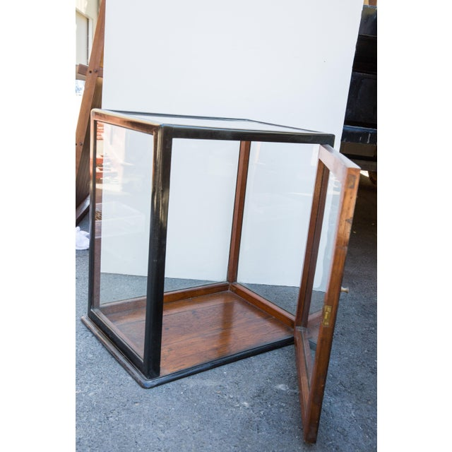 Ebonized Curio Cabinet For Sale In San Francisco - Image 6 of 9