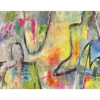 """Original Abstract Figurative Painting Titled """"The Color of Woman"""" For Sale"""