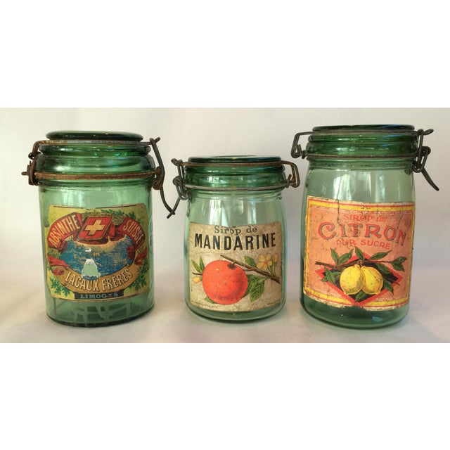 1930s French Canning Jars - Set of 3 - Image 2 of 6
