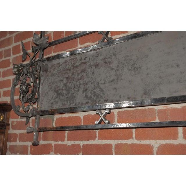 Chromed Iron Hanging Sign - Image 7 of 9