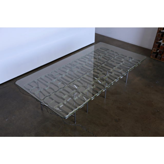 Mid Century Sculptural Coffee Table by Donald Drumm For Sale In Los Angeles - Image 6 of 12