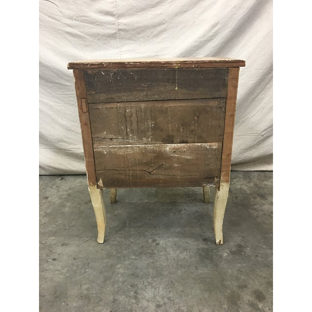 19th C Venetian Petite Painted Chest of Drawers - Commode For Sale - Image 11 of 12