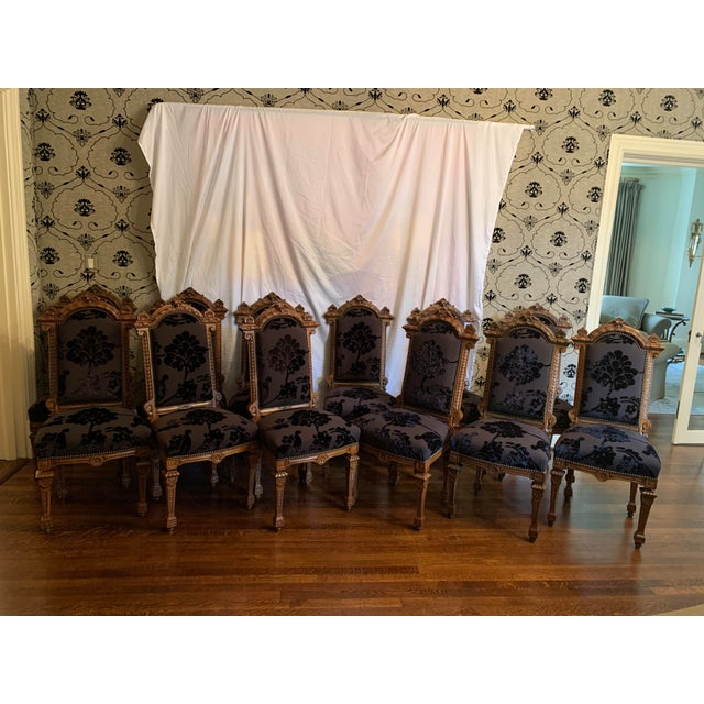 Renaissance Revival Dining Chairs Set of 12 For Sale - Image 11 of 13