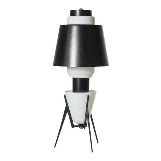 Rare Large Italian Modernist Sputnik Table Lamp, 1950s For Sale