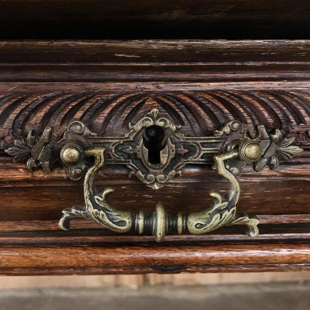 19th Century French Renaissance Desk ~ Bureau Plat For Sale - Image 9 of 13