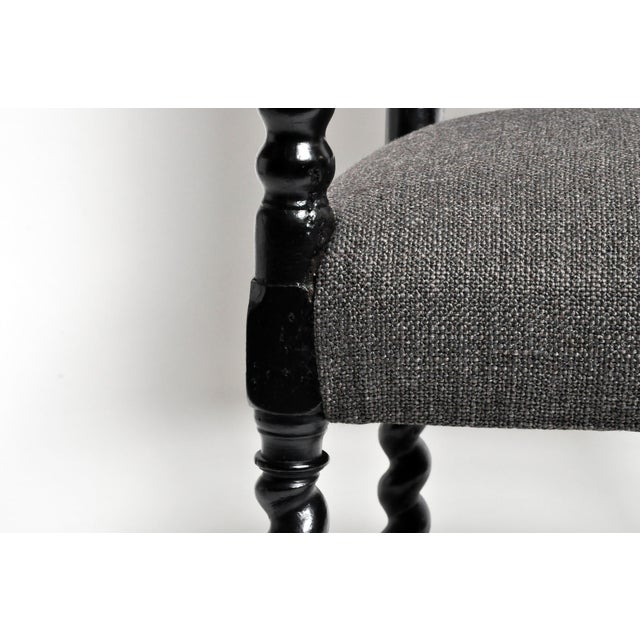 Louis XIII Style Carved Armchair For Sale - Image 9 of 13