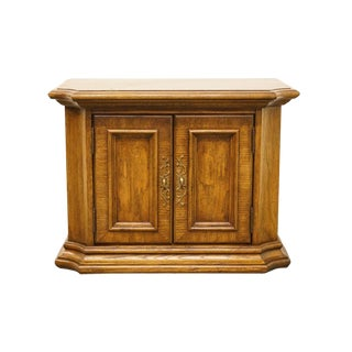 Stanley Furniture Italian Neoclassical Tuscan Fruitwood Commode / Nightstand For Sale