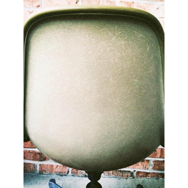 Herman Miller Eames Upholstered Fiberglass Shell Chair - Vintage - Image 7 of 8