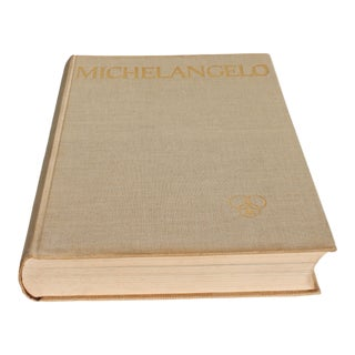 "1966 Vintage ""The Complete Works of Micharlangelo"" Italian Published Book For Sale"