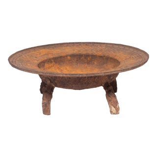 19th Century Chinese Cast Iron Brazier For Sale