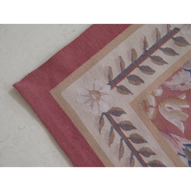 1980s Aubusson Room Size Rug - 8' X 12' For Sale - Image 12 of 13