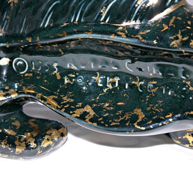 Vintage Mid-Century Ceramic Panther Planter - Image 7 of 8