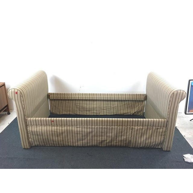 Contemporary Upholstered Daybed Frame - Image 3 of 6