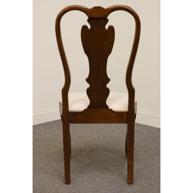 Wood Late 20th Century Vintage Pennsylvania House Queen Anne Style Dining Chair For Sale - Image 7 of 11