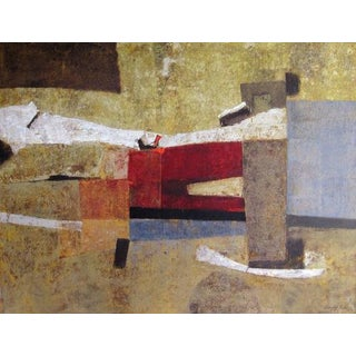 Stanley Bate, Abduction of the Emperor Painting, 1971 For Sale