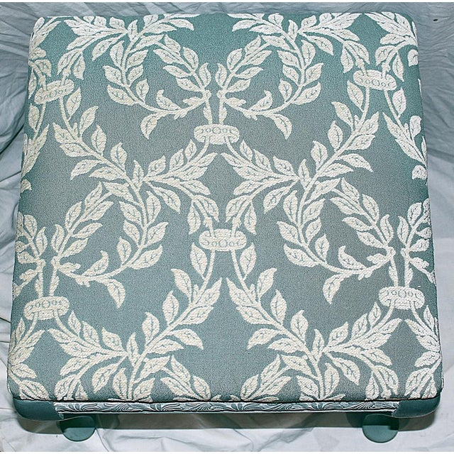 Queen Anne-Style Painted Footstool - Image 4 of 5
