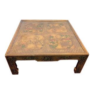 Phoenix & Unicorn Coffee Table by Widdicomb For Sale