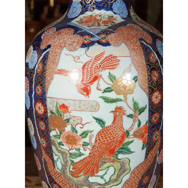 19th Century Japanese Imari Vase For Sale - Image 4 of 10