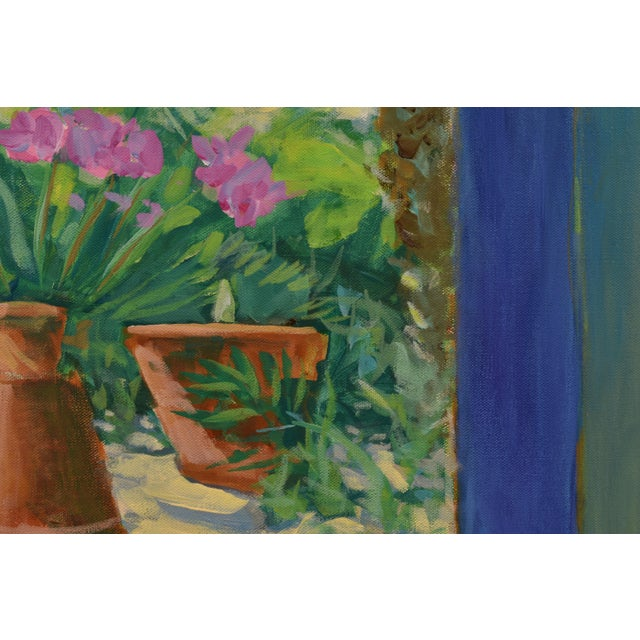 "2010s Contemporary Large Painting, ""The Greenhouse"", by Stephen Remick For Sale - Image 5 of 13"