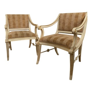 Bunny Williams Home Star Chairs - a Pair For Sale