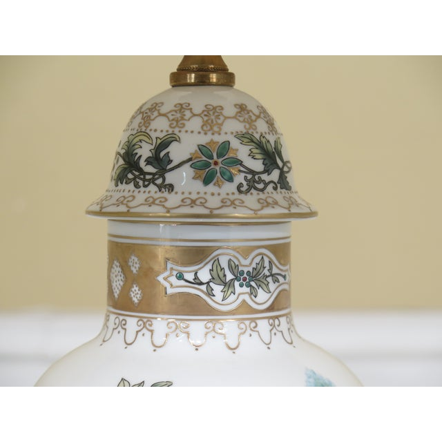 Chinoiserie Chelsea House Chinoiserie Decorated Porcelain Table Lamp For Sale - Image 3 of 11