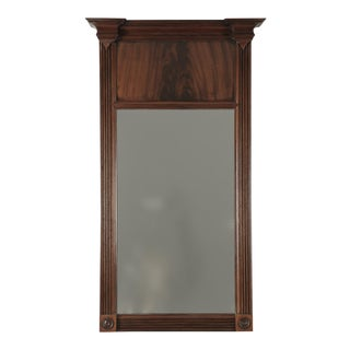Antique English Sheraton Mahogany Mirror