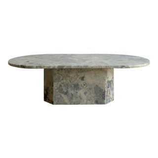 1980s Stone Coffee Table For Sale