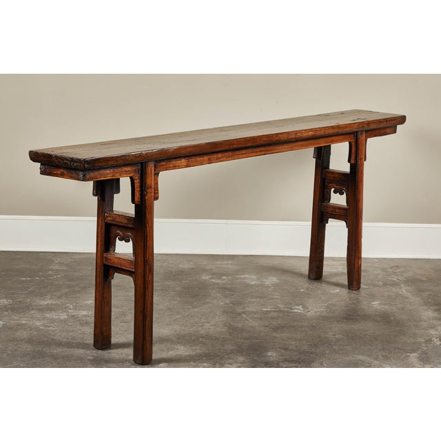 17th Century Chinese Elm and Poplar Altar Table For Sale - Image 9 of 9