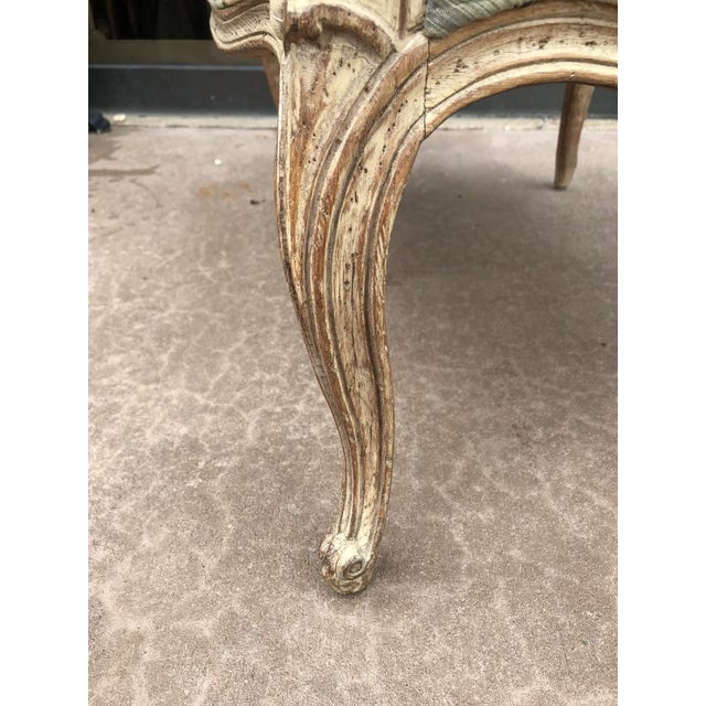 Vintage Bergere Side Chairs - a Pair For Sale - Image 4 of 8