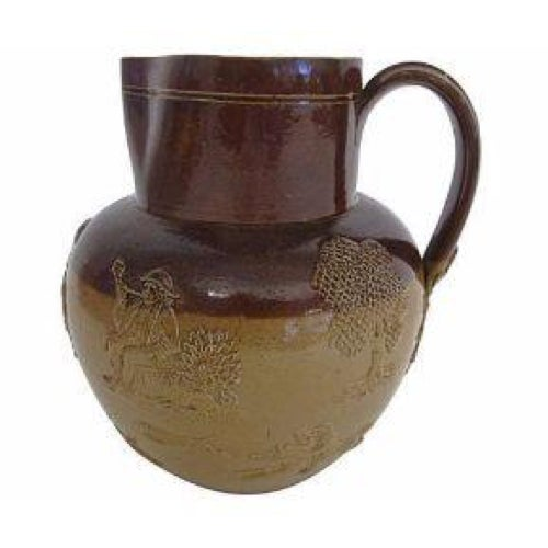 English Stoneware Doulton Jug - Image 1 of 4