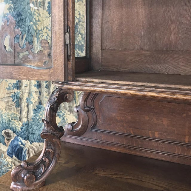 19th Century Liegeois China Buffet For Sale - Image 10 of 13