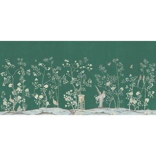 "Casa Cosima Emerald Brighton Wallpaper Mural - 5 Panels 180"" W X 96"" H For Sale"