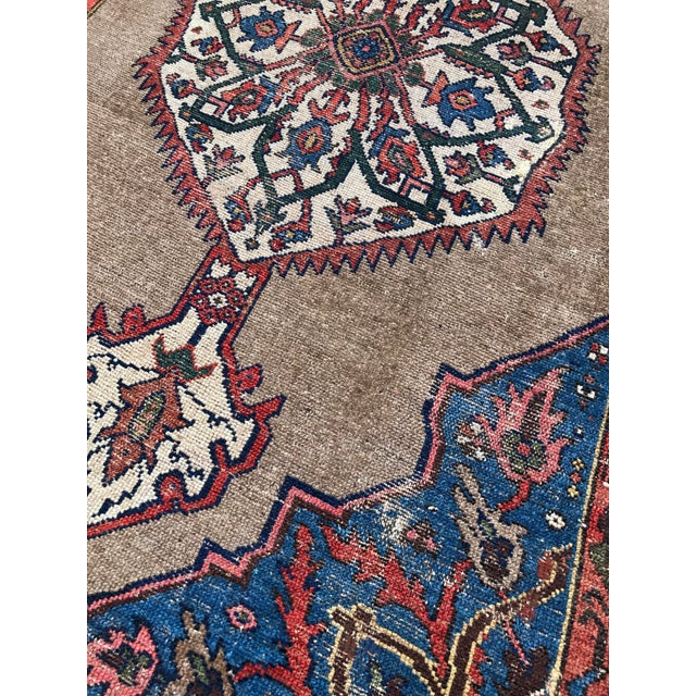 """Antique Persian Ferahan Rug - 3'5.5""""x 5'8"""" - Image 4 of 5"""
