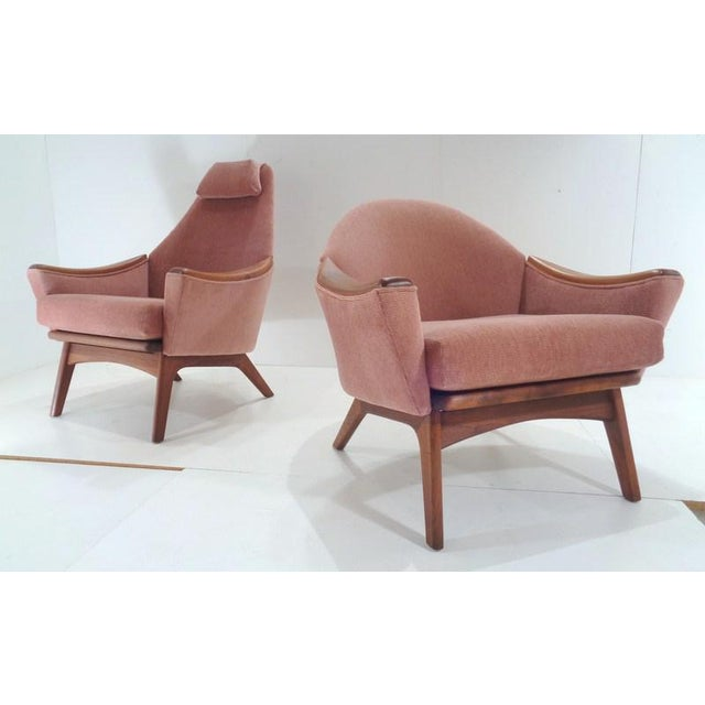 Mid Century His & Hers Adrian Pearsall Lounge Chairs For Sale - Image 13 of 13