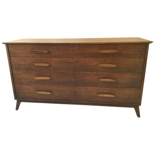 1960s Henredon Dresser With Brass Pulls For Sale