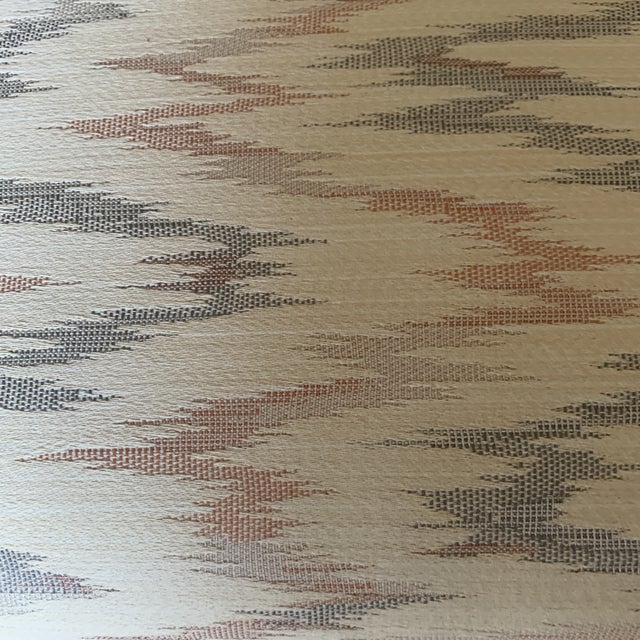 Vintage Weiman Upholstered X Bench For Sale - Image 9 of 13