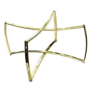 1970's Italian Brass Coffee Table Base For Sale
